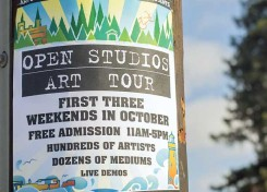 Open Studios Artist Tour -Opening Reception First Friday October 2, 5-9 pm
