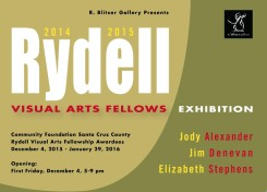 Rydell Visual Arts Fellows Exhibition-December 4, 2015- January 29, 2016