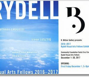 Rydell Visual Arts Fellows Exhibition-Opening Reception First Friday December 1, 5-9 pm
